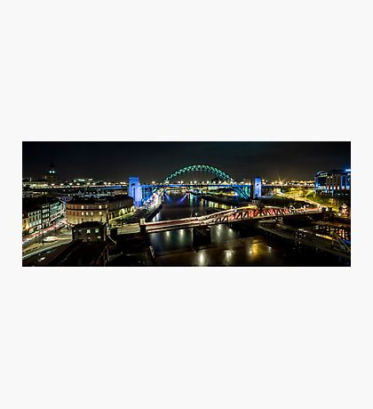 The Tyne Bridge Panoramic Photographic Print