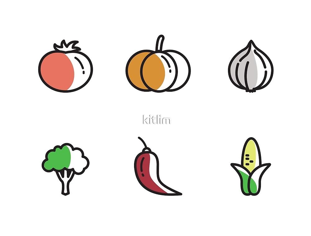 Fresh Vegetables by kitlim