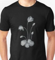 Ink flower negative Unisex T-Shirt
