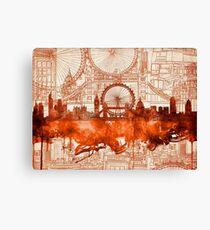 London city skyline Canvas Print