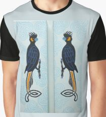 Yellow-tail Black Cockatoo Partners Graphic T-Shirt