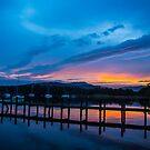 Bowness sundown 2 by Gary Power