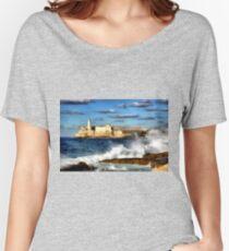 Morro Castle, Havana, Cuba ca.1589  Women's Relaxed Fit T-Shirt