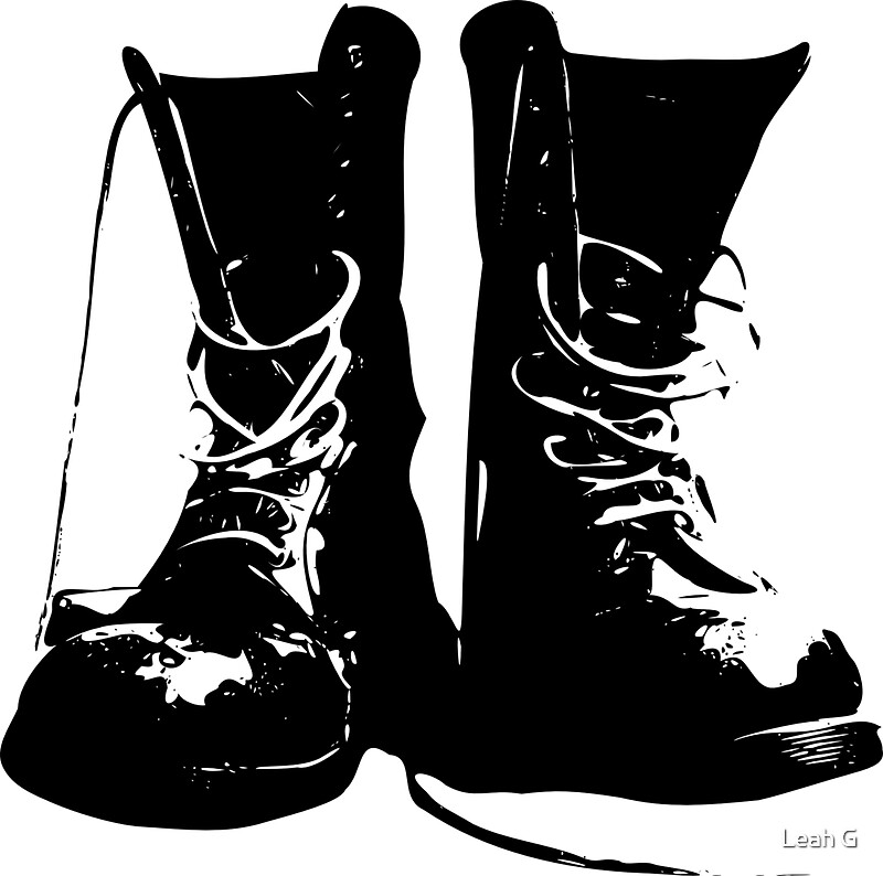 fashion boots drawing. punk boots - rockershoes streetstyle fashion by cartoonistlg drawing a