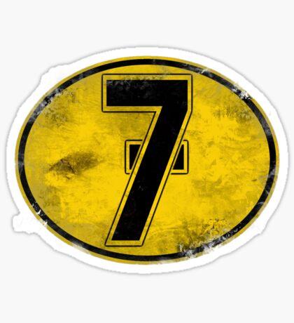 Lucky 7 Sticker