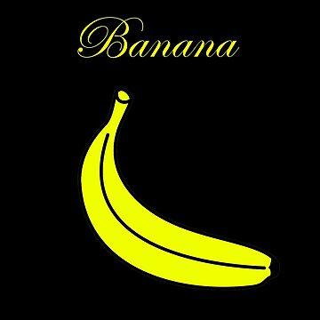 The Banana by Cha-M-Ra