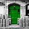 Coloured Doors (Selective Colouring)
