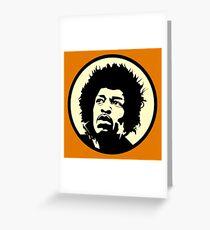 Vinage Hendrix Greeting Card
