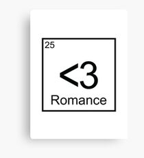 The Element of Romance Canvas Print
