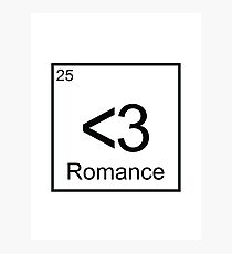 The Element of Romance Photographic Print