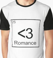 The Element of Romance Graphic T-Shirt
