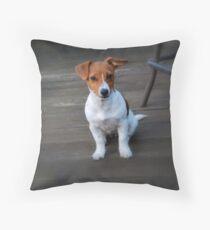 Jack Russell Terrier Throw Pillow