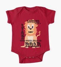 Hear me ROAR One Piece - Short Sleeve