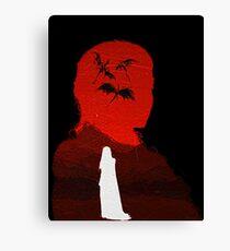 Daenerys Targaryen - Fire and Blood Canvas Print