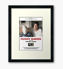 Funny Games Poster Framed Print