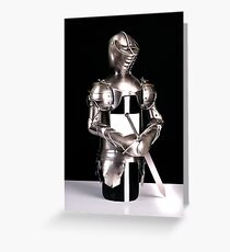 Armour Greeting Card