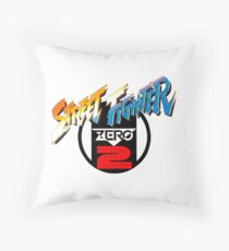 Street Fighter Zero 2 Throw Pillow