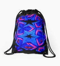 Red Wings Drawstring Bag