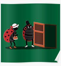 Ladybug Gentleman Poster