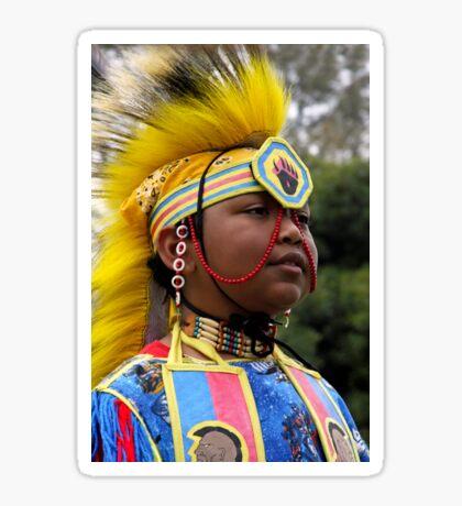 Young Warrior-Heritage Pride Sticker