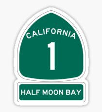 PCH - CA Highway 1 - Half Moon Bay Sticker