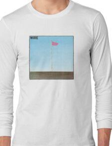 Wire - Pink Flag Shirt Long Sleeve T-Shirt