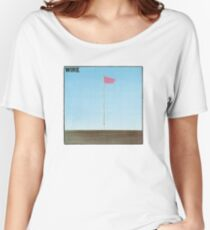 Wire - Pink Flag Shirt Women's Relaxed Fit T-Shirt