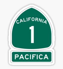PCH - CA Highway 1 - Pacifica Sticker
