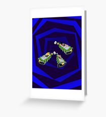 Day of the Tentacle - Time Machine  Greeting Card