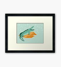 Tiktaalik is Talkative Framed Print