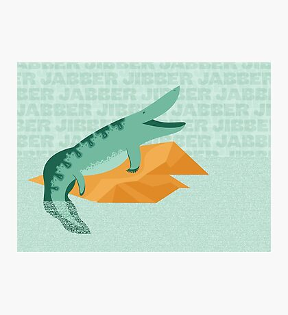 Tiktaalik is Talkative Photographic Print