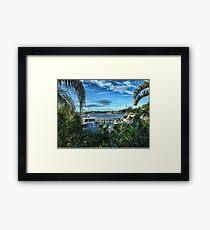 Port Richey Florida  Framed Print