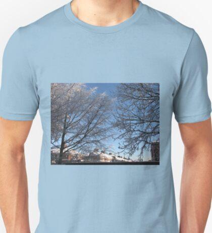 Winter Sonnenaufgang T-Shirt