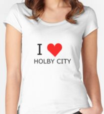 I love Holby City Women's Fitted Scoop T-Shirt