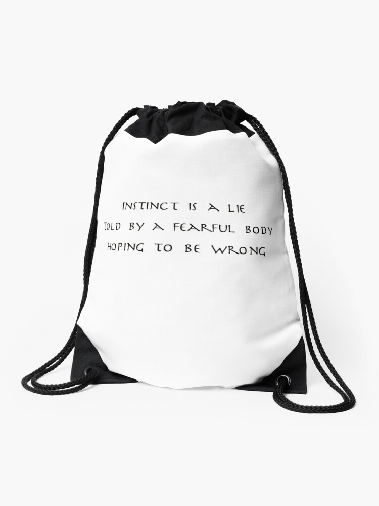 guru laghima quote drawstring bag by berrymuffin redbubble