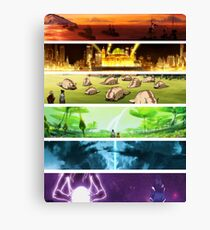 Korra Spirits (Any Color!) Canvas Print