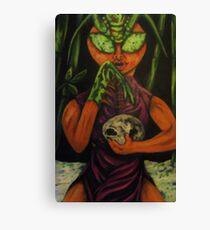 """Miss Morphing Mantis"" Canvas Print"