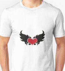 A flaming heart T-Shirt