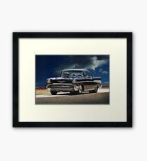 1957 Chevrolet Bel Air 'Serious Business' II Framed Print