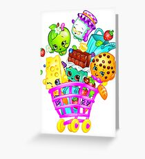 Shopkins basket Greeting Card
