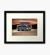 1957 Chevrolet Bel Air 'Serious Business' I Framed Print