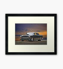 1955 Chevrolet Coupe 'One Sinister Chevy' II Framed Print