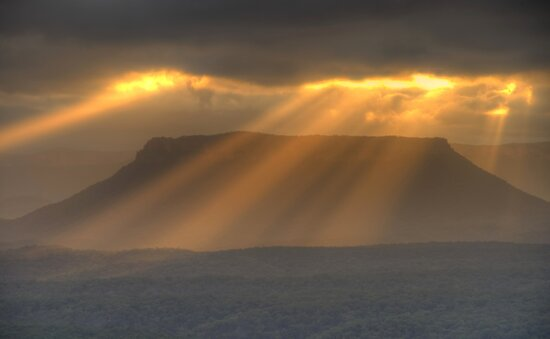 Blessing - Capertee Valley, West Of Sydney - The HDR Experience by Philip Johnson