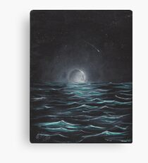 """""""Moonlight"""" by Curtis Caton Canvas Print"""