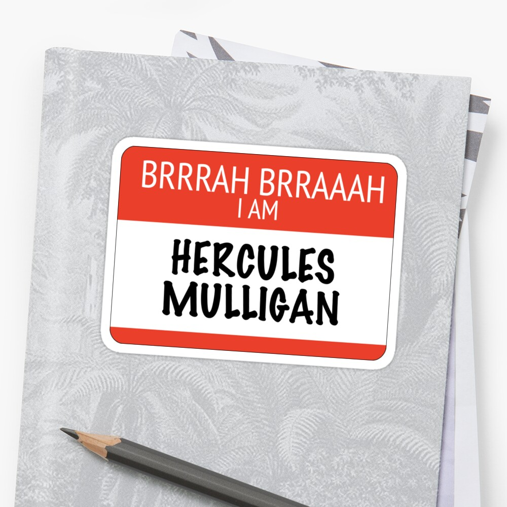 hercules mulligan Mulligan's slate, cato, worked alongside him as a spy during the war there's no record of him after the war, but it's widely assumed he was freed the hamilsquad were all against slavery, they just fought it in different ways.