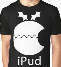 iPud Christmas Pudding Graphic T-Shirt