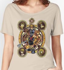 Kingdom Hearts Sora stained glass Women's Relaxed Fit T-Shirt