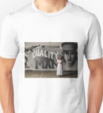 Duality of man Unisex T-Shirt