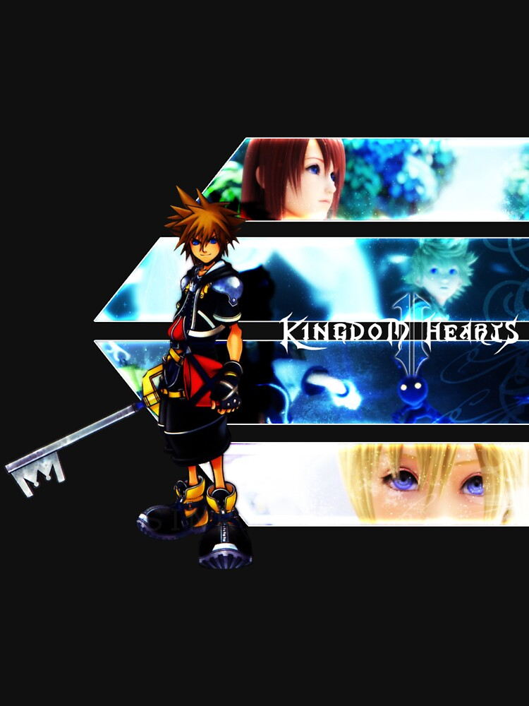 Kingdom Hearts multi-character by legendofsarah