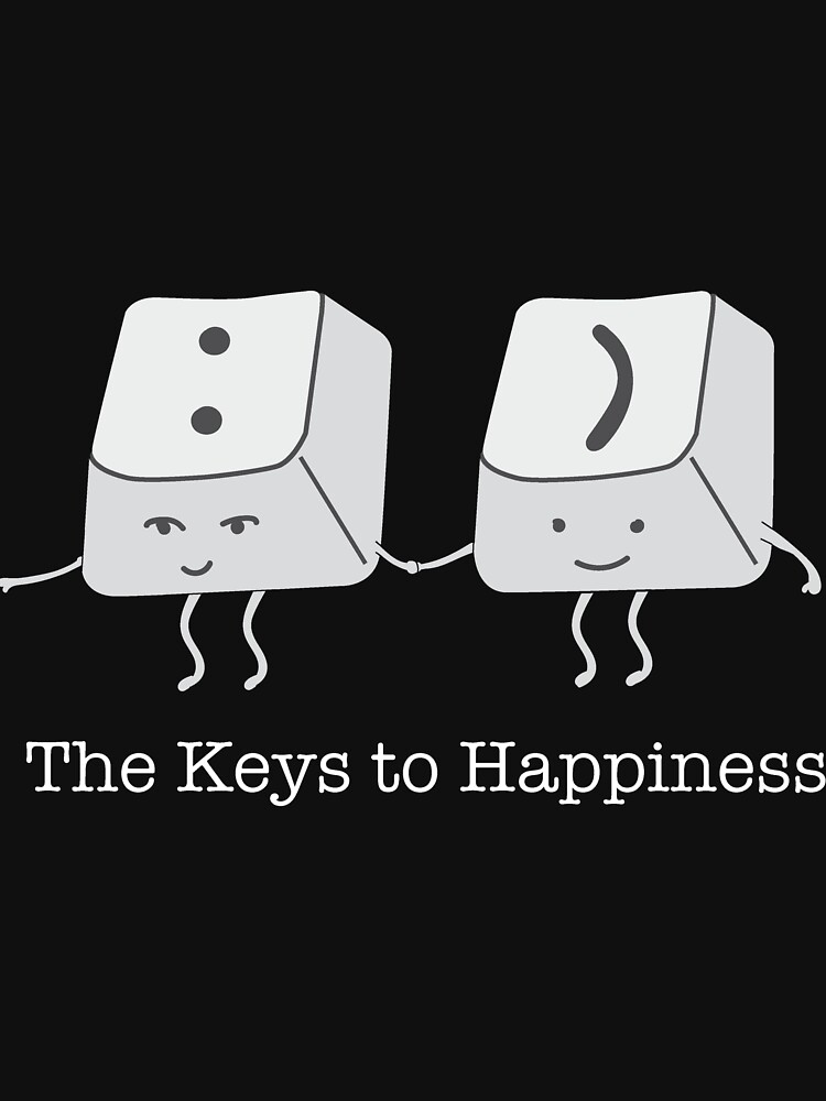 The keys to happiness by joshbar